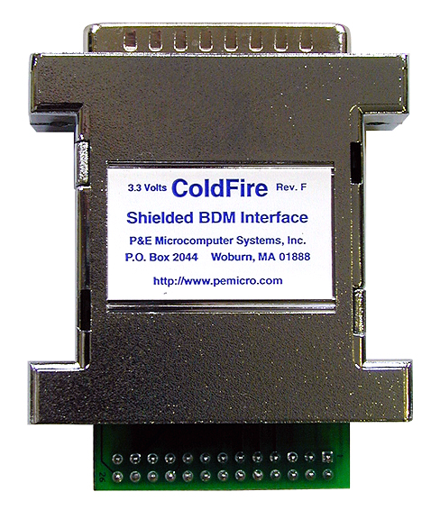 CABLE_CFLV (discontinued) | ColdFire BDM Interface (Parallel Port